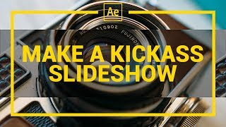 After Effects Slideshow Tutorial + Free Download