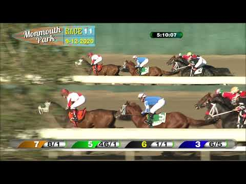 video thumbnail for MONMOUTH PARK 09-12-20 RACE 11 – THE MR. PROSPECTOR STAKES