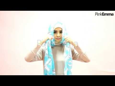 Tutorial Hijab Risty Tagor Office Look Praktis Ramadan ...