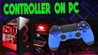 How To Play Fortnite on PC With Ps4/Xbox Contoller on Fortnite PC!