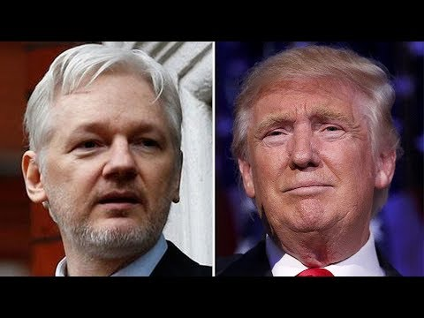 """Julian Assange: """"Trump saw this video I tweeted in June . . ."""" ended CIA funding"""