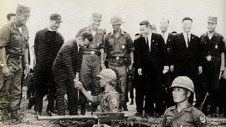 박정희 대통령 월남전 방문 1966년 10월21일