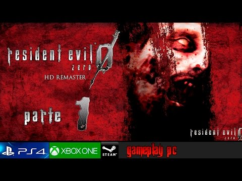 Resident Evil Zero HD Remaster Parte 1 Español Gameplay - Ecliptic Express | PC 1080p 60fps