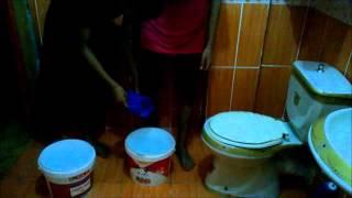 ice bucket challenge ( Access VII ) Khaled mohey & mana & Nour