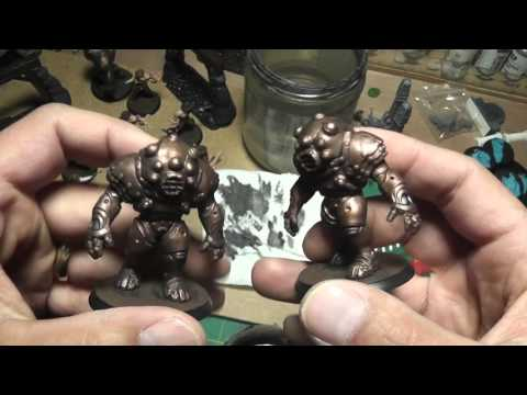 Miniature Paint Walkthrough with Washes