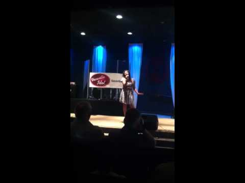 "Sabreena Venegas performing Mary J Blige ""I'm Going Down"""