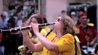 Fanfare à Brioude, Haute Loire (Auvergne)