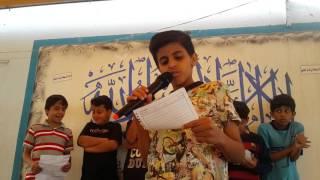 إذاعة جماعة التربية الإسلامية بمدارس الرواد بريدة تحت إشراف أ / عمر العمري