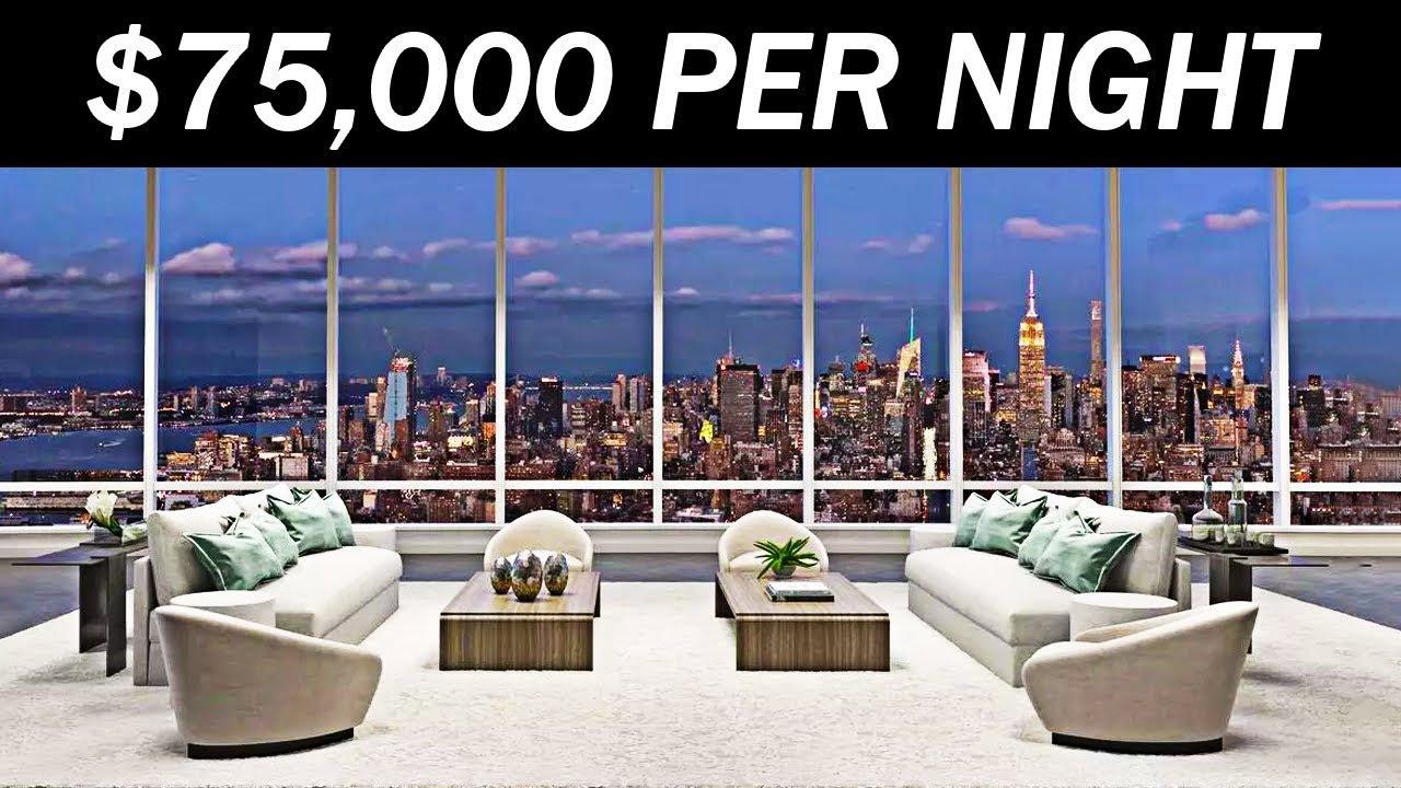 Како изгледаат собите во хотелот каде ноќ чини 75.000 долари?