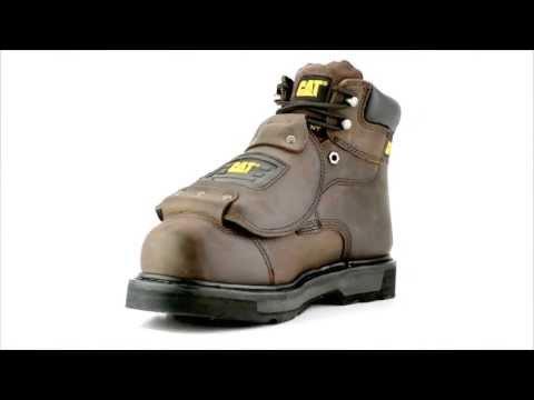 Men's Caterpillar P89311 Steel Toe Metguard Work Boot @ Steel-Toe-Shoes.com