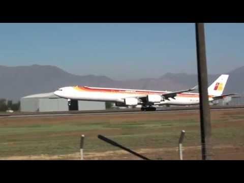 Iberia Iberia's twitter jet  Airbus A340-642   EC-JBA  IBE6833 Came From LEMD