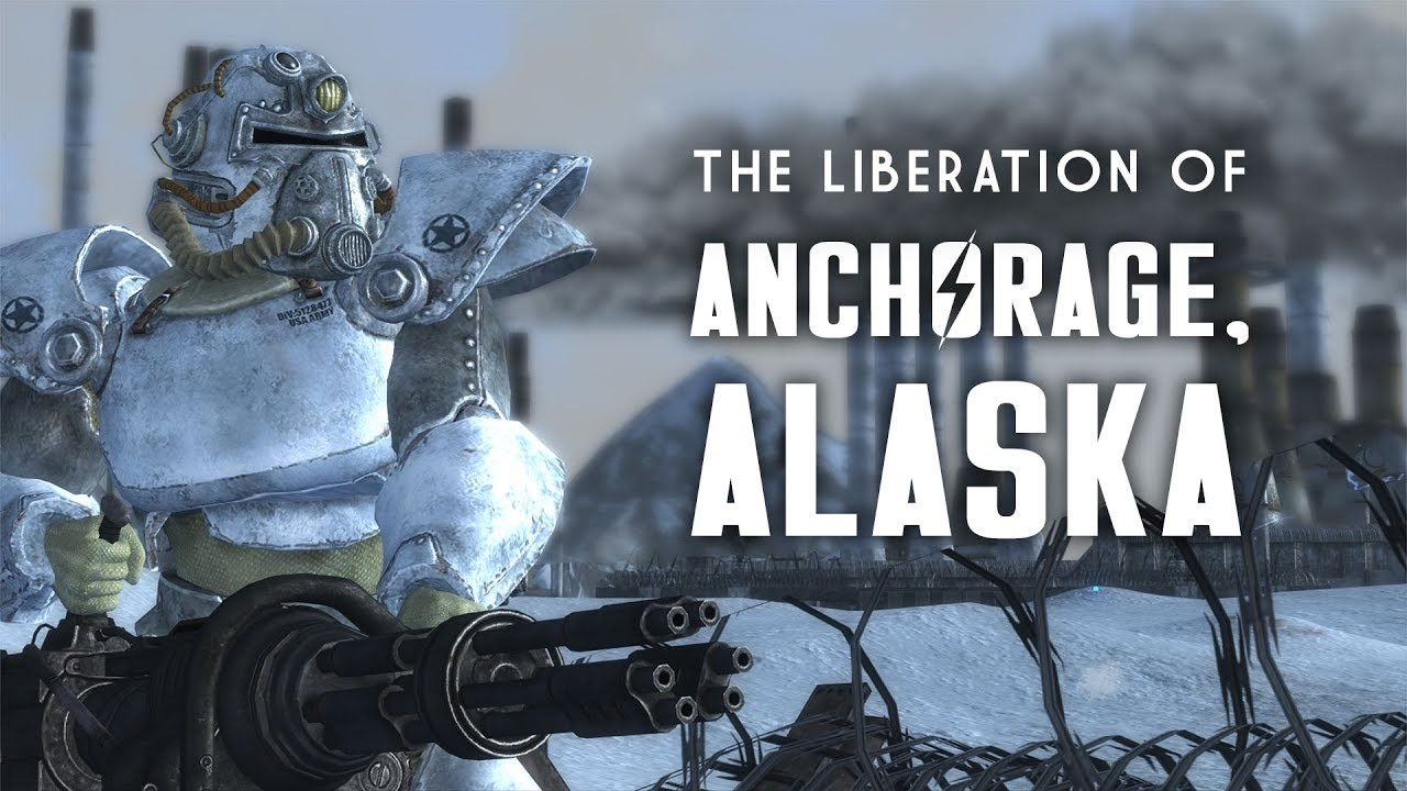 The Liberation of Anchorage, Alaska - Fallout 3 Lore