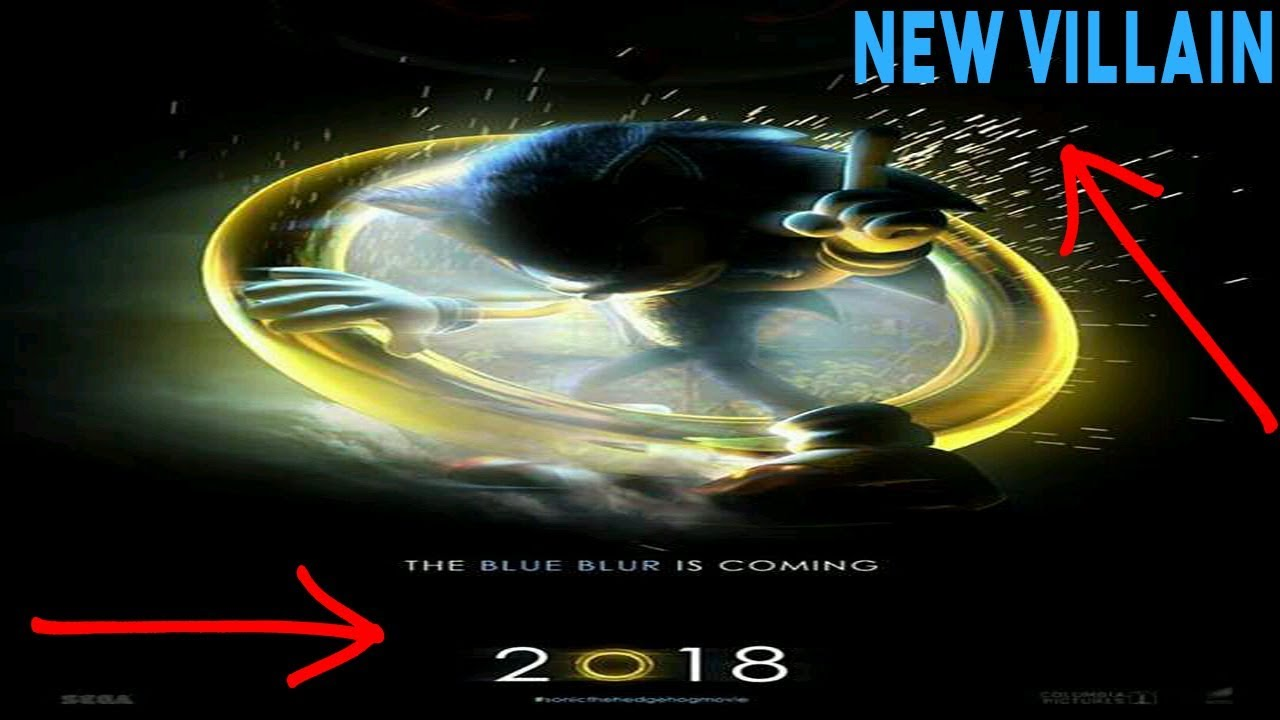 Movie Poster 2019: Sonic The Hedgehog Movie 2019 Poster Breakdown! Plus New
