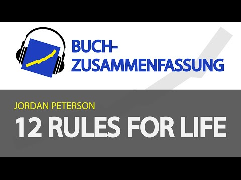 12 Rules for Life YouTube Hörbuch Trailer auf Deutsch