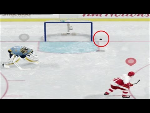 Not ALWAYS the GOALIES FAULT in NHL 17  (NHL17 Clips)