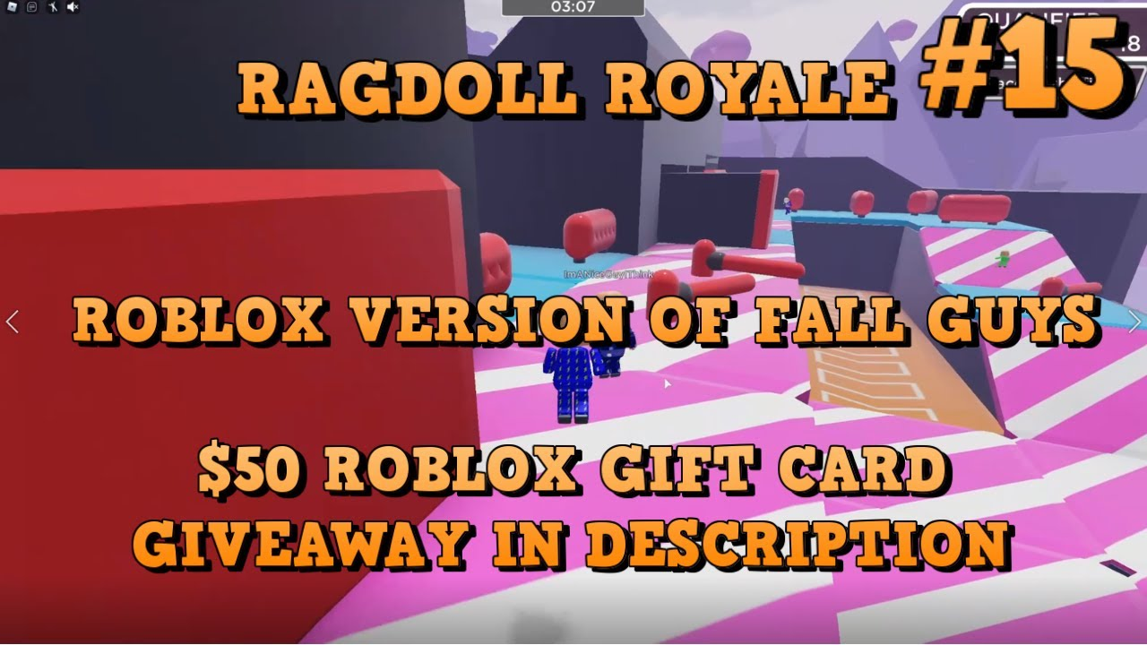 Ragdoll Royale 14 50 Roblox Gift Card Giveaway Roblox Version Of Fall Guys Youtube Ragdoll Royale 15 Roblox Version Of Fall Guys 50 Roblox Gift Card Giveaway In Description Youtube