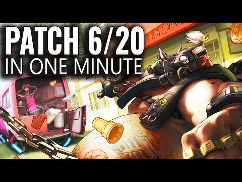 Overwatch Patch in a Minute June 20