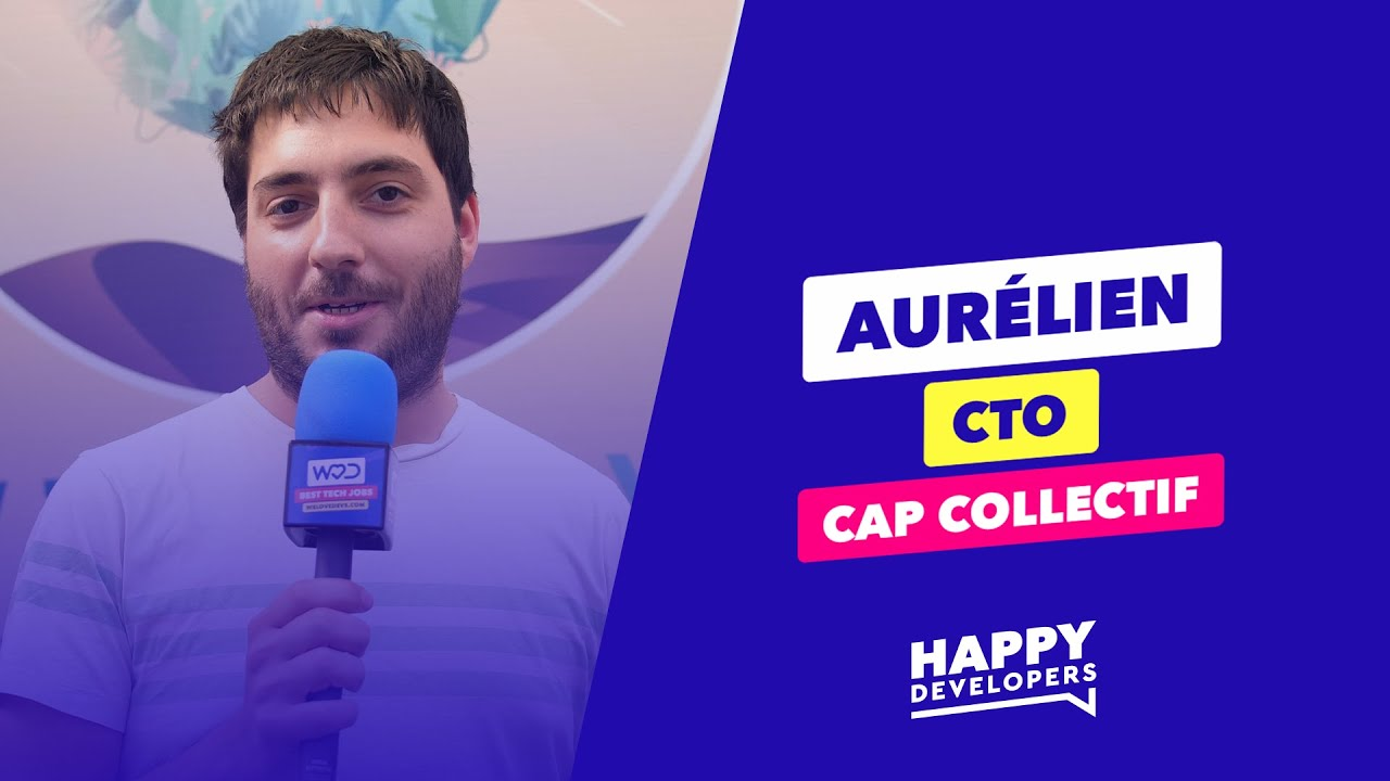 Happy Developers - Web2Day Nantes - Aurélien de Cap Collectif