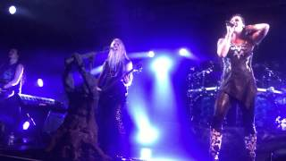 Nightwish - Sleeping Sun & The Greatest Show On Earth (Parts 2 & 3) - Houston TX 2015