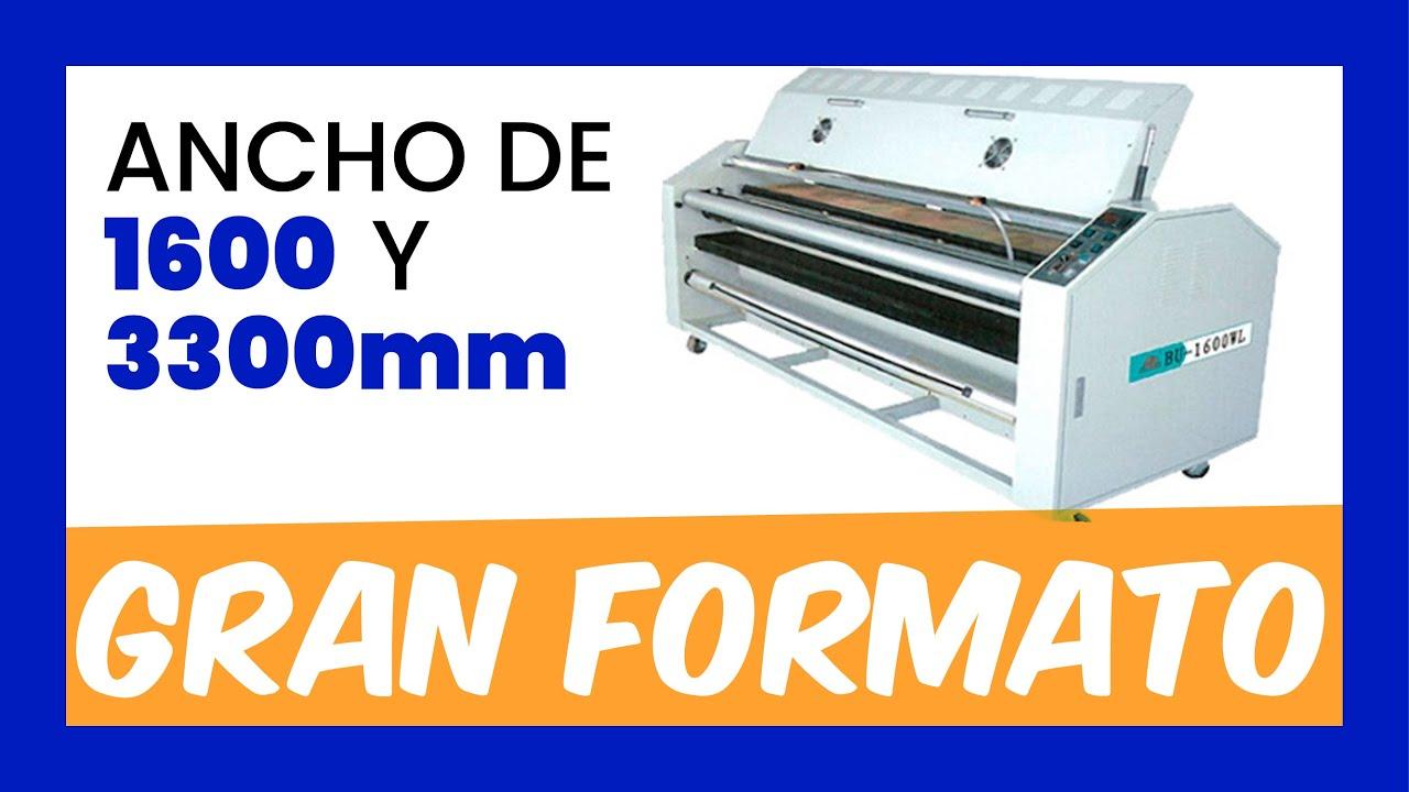 Color printing bu - Barnizadora Bu 1600 Wl