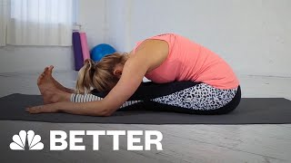How To Perform A Seated Forward Fold | Better | NBC News