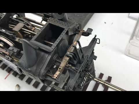 Greesley Valve Gear, O-scale 4-12-2