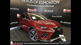 Red 2019 Lexus NX 300 F Sport Series 1 Review Edmonton Alberta - Lexus of Edmonton New