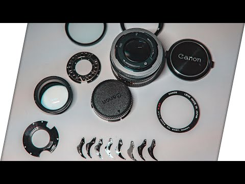 Canon FD 50mm 1.4 S.S.C aperture repair