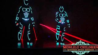 Световое лазерное танцевальное шоу