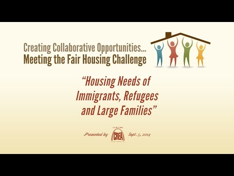 CREA - Housing Needs of Immigrants, Refugees and Large Families - 6 of 8