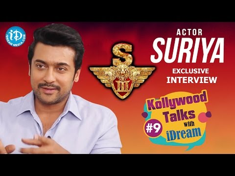#S3 #Singam3 || Suriya Exclusive Interview || Kollywood Talks With iDream #9