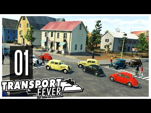 Transport Fever - Ep.01 : American Truck Simulator!