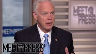 Senator Ron Johnson: Russia Is An 'Unfriendly Adversary' (Full) | Meet The Press | NBC News