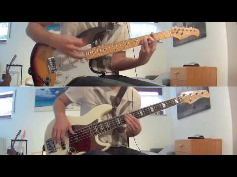 White Rabbit - Jefferson Airplane | Guitar+Bass Cover with Notes+Tab