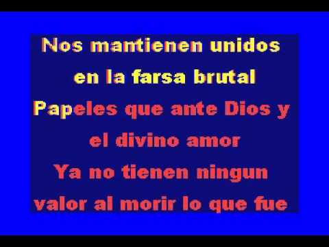 PAPELES- Enrique Guzman-Karaoke