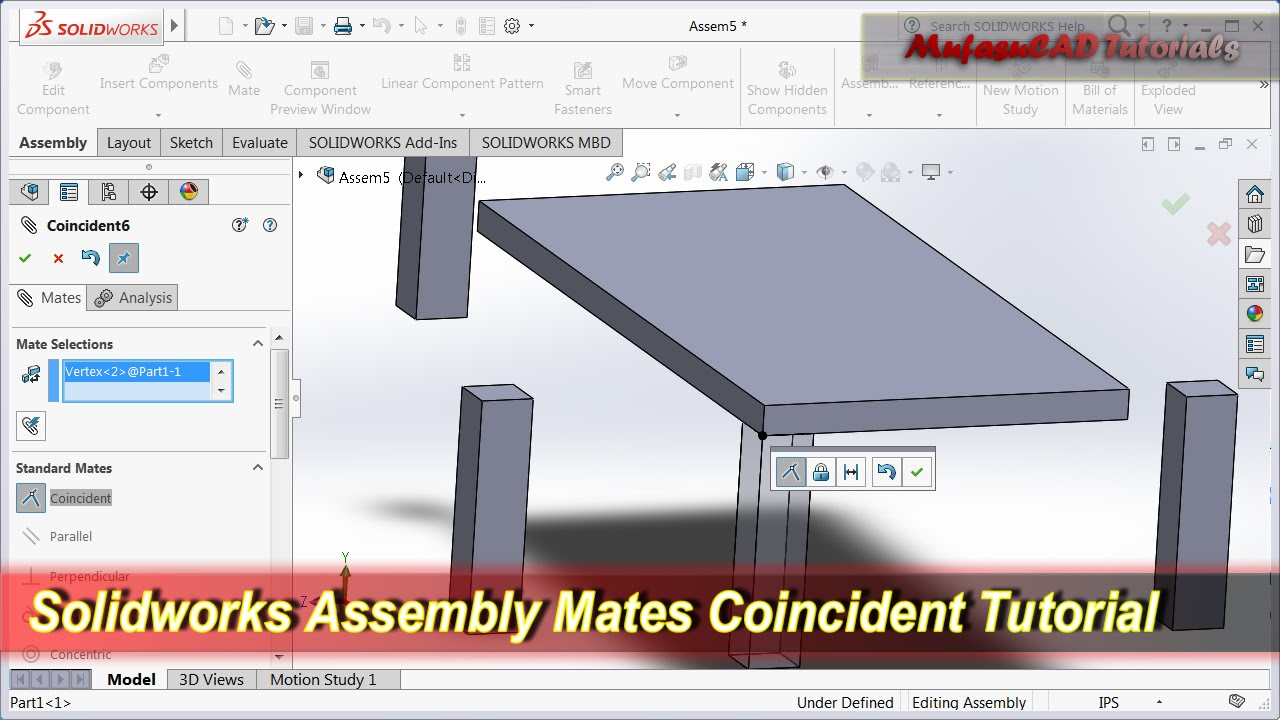 Solidworks tutorial gear mate and rotation youtube.