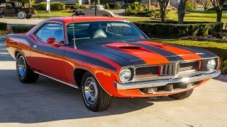 1972 Plymouth Cuda For Sale