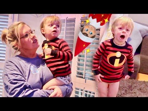 Elf On The Shelf FREAK OUT! | Vlogmas: Day 7 | Cullen & Katie