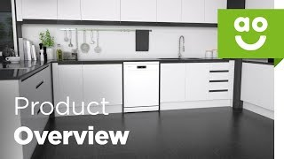 Samsung Dishwasher DW60M6050FW Product Overview | ao.com