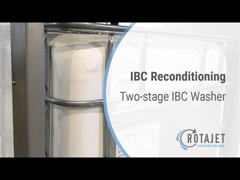 IBC cleaning and washing station