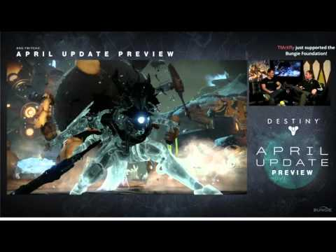 "Bungie: Destiny ""New Things To Do"" Live Stream (April Update Reveal) 1080p HD"