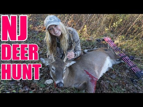 Bow Hunting For Whitetail Deer In New Jersey !