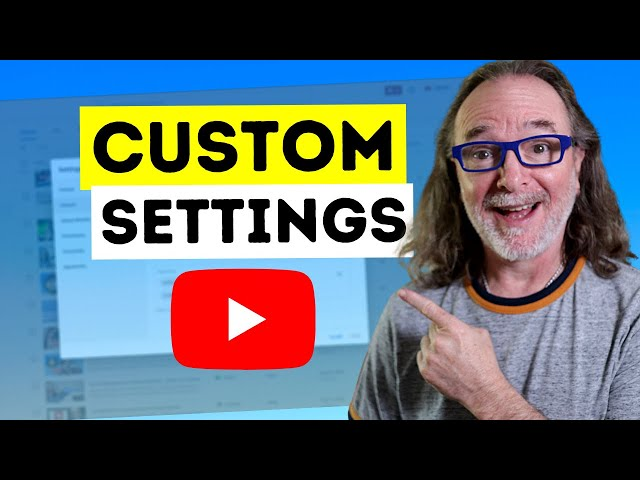 How To Change Your YouTube Channel Settings - Behind-the-scenes YouTube Coaching Tutorial