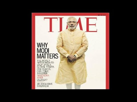 PM Modi Features On TIME Magazine With Exclusive Interview