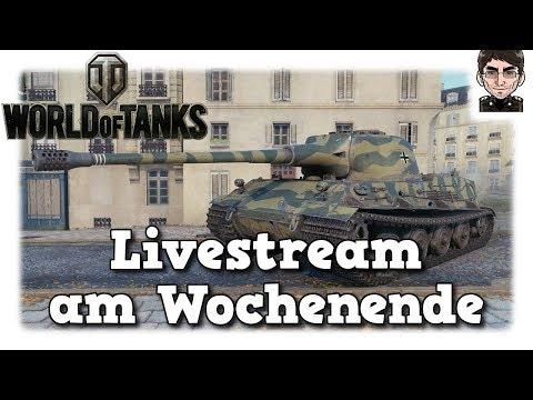 World of Tanks - Livestream Aufzeichnung Samstag Wahnsinn [deutsch]