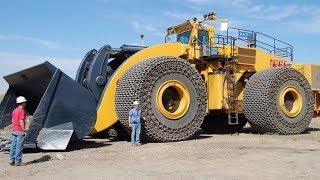 Самые огромные карьерные погрузчики! Они поражают размерами
