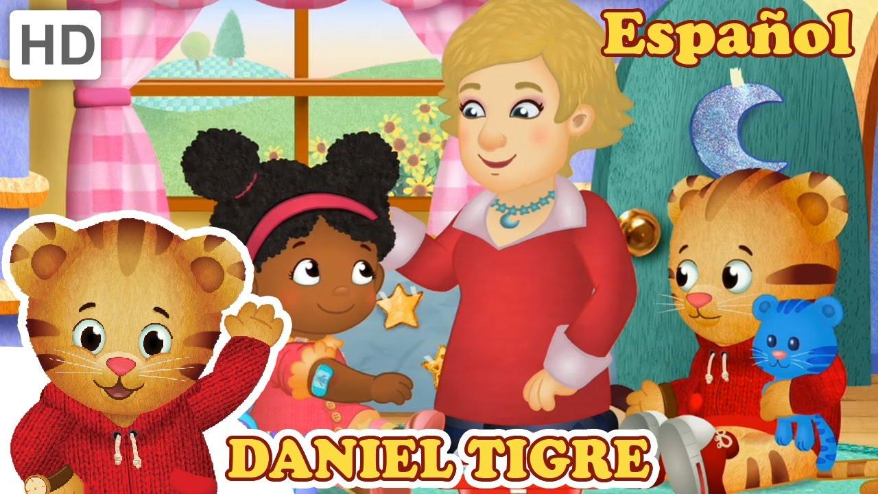 Daniel Tigre en Español - La Señorita Elena se Cae y se Lastima ...