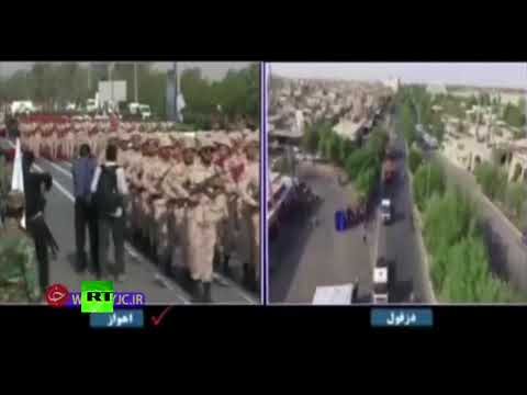Attack on military parade in Iran caught on cam (DISTURBING)