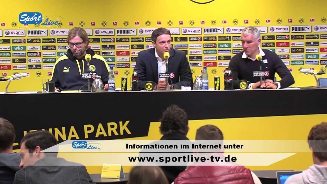 BVB Pressekonferenz vom 19. Oktober 2013 nach dem Spiel Borussia Dortmund gegen Hannover 96