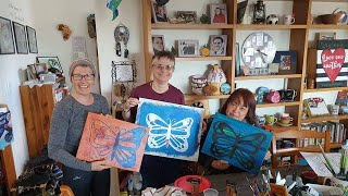 Butterfly Paint Party on 1/10/2020